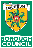 Dacorum Borough Council logo linking to our homepage