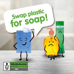 Swap Plastic for Soap